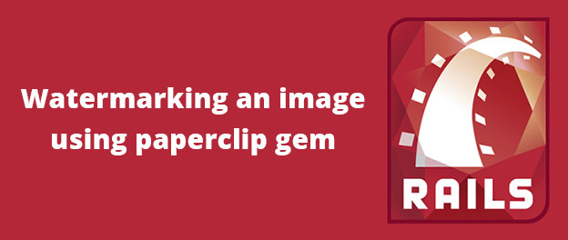 ruby paperclip watermark Ruby and rails paperclip now requires ruby version = 192 and it would be easy to create a custom processor that watermarks an image using imagemagick's.